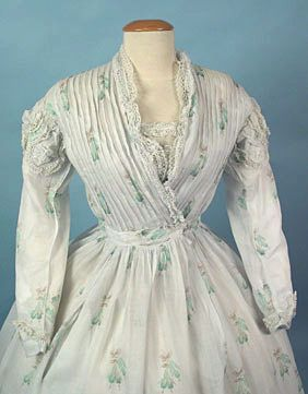 1860's Overlapping Dress | Sew Decades Ago